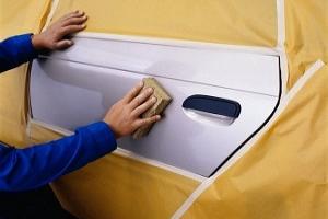 Automotive painting masking tape