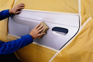 Automotive painting masking tape