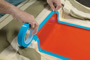 Powder coating masking tape