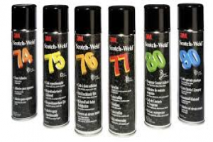 The 6 references of aerosol adhesive 3M