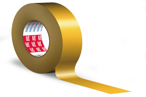 Double-sided polyester adhesive tape tesa