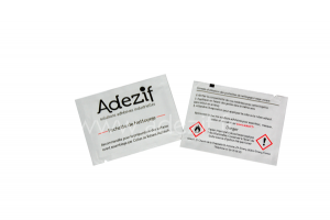 individual Impregnated Cleaner wipes ADEZIF