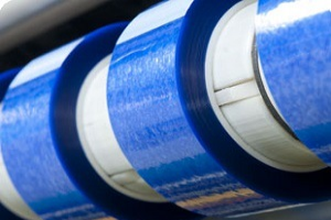 Adhesive tape slitting small batch