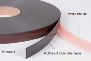 single-sided Magnetic adhesive tape