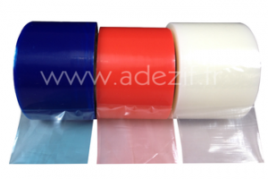 3 protective films with low, medium and high adhesion