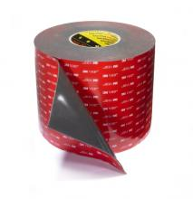 VHB adhesive tape manufactured by 3M : grey with a red liner