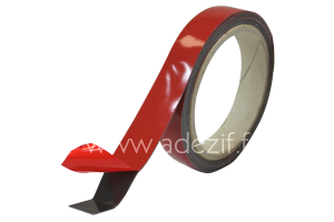 Acrylic adhesive tape for bonding on powder coating ADEZIF M708