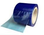 Blue translucent adhesive film for surface protection with low adhesion ADEZIF PS350