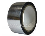 Silver-coloured polyester tape for splicing ADEZIF PT 821